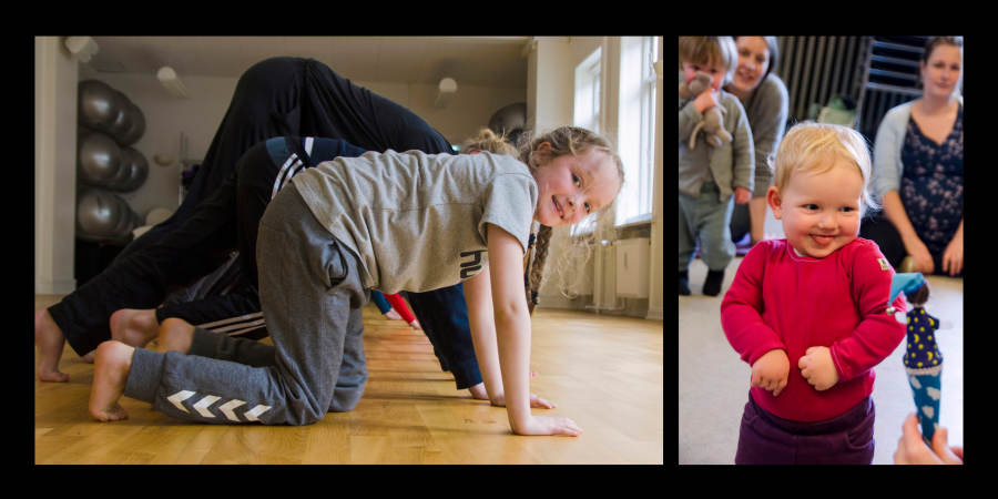 Movement for children under the National Enlightenment Association (F.O.F.Danmark)